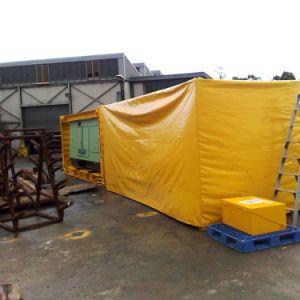 Wasserdichtes Kurbelgehäuse-Belüftung beschichtete Plane-Fabrik-Zubehör