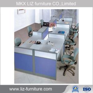 Precio barato Simple 4 plazas La estación de trabajo del armario de Office 2062