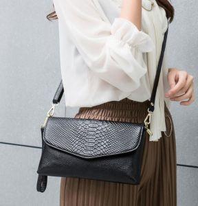 Colorida PU de cuero de moda Dama bolso de mano bolsos de noche