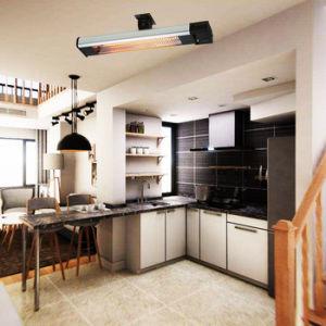 Design elegante impermeável montada na parede radiante Aquecedor Eléctrico