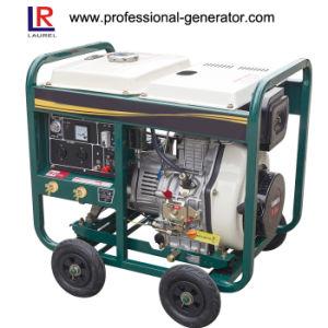 5kw de potencia portátil Diesel Generator, generador pequeño 4 Carrera