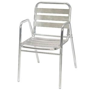 La preuve de l'eau de fonte des chaises de jardin Meubles de jardin en aluminium Vietnam-06013 (DC)