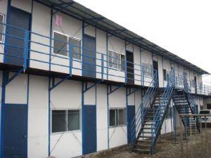 Structure en acier fait Mur isolé des maisons préfabriquées