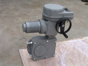 정규적인 수준 F 시리즈 AC 모터 실제적인 전기 벨브 액추에이터