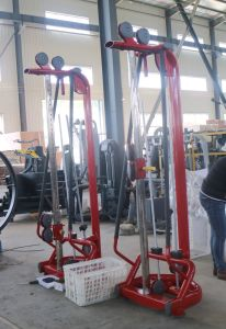 Strumentazione di forma fisica dell'incrocio del cavo dell'addestratore di funzione di Muti della strumentazione di ginnastica