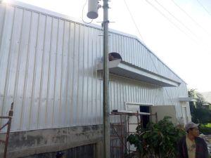Facilidade de montagem da estrutura de aço de capoeira House (KXD-PCH1452)