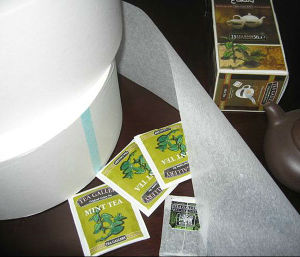 Bolsa de té, rollo de papel