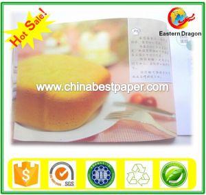 60g de papel para impressão de revistas de marfim