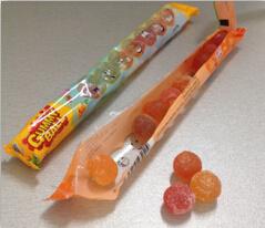 フルーツ柔らかいキャンデーの球粘着性キャンデーの菓子のお菓子屋