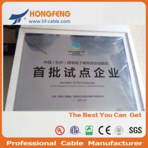 50 Ом Telecomm экранированный кабель с двойной стандарт MIL-C-17 RG179