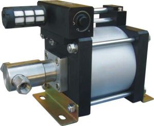 Modelo de baixo custo: Ah Tipo Barra 80-1000 hidráulica acionada pelo ar de alta pressão da bomba de teste de bancada de teste