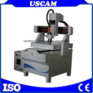 Tisch, der CNC-Minifräser für Metallstein-Acrylstich verschiebt