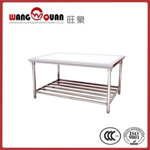 ステンレス鋼のAlibabaのシンプルな設計のワークテーブル