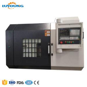 Ck6180una producción CNC tornos de Control de máquina horizontal de metal