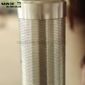 [ستينلسّ ستيل] 304 جيّدة يحفر إستعمال سلك يلفّ ماء بئر - شاشة أنابيب