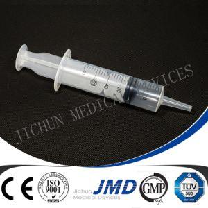 3 Teil Luer Beleg-Sicherheits-Wegwerfplastikspritze mit Nadel