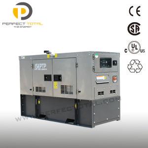 15kw silencieux en acier inoxydable Groupe électrogène Diesel avec moteur Perkins et l'EPA
