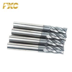 O carboneto de sólidos 4 flautas Desbaste Final Ferramenta de corte do moinho para máquinas CNC