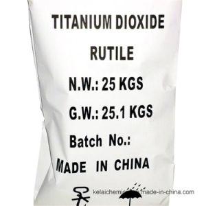 Pintura a pó branco e revestimento de matérias-primas químicas Rutilo de dióxido de titânio
