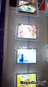 Placa de acrílico Folha de acrílico Crystal Caixa de luz LED