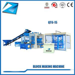 Qt6-15top Stufen-Bestes, das den Kleber-Straßenbetoniermaschine-Block herstellt Maschine verkauft