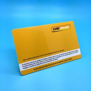 호텔 접근 제한과 멤버쉽 관리를 위한 자기 띠를 가진 표준 CR80 플라스틱 FM08 칩 RFID 스마트 카드