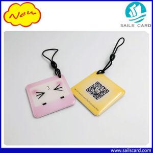 Modifica chiave a resina epossidica programmabile personalizzata di Shape&Size RFID 13.56MHz