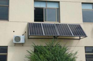 Cc48V Sistema Solar 18000BTU (1,5 ton) poupança de energia 100% Sala Solar Condicionador de Ar do Inversor de Potência