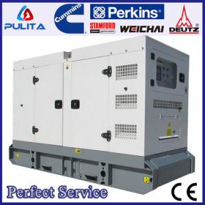 이동할 수 있는 침묵하는 유형 24V 전기 시작 40kVA 변환장치 백업 발전기