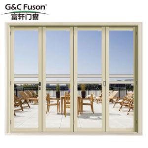 Migliore portello di piegatura di vetro della lega di alluminio di prezzi di fabbrica di qualità