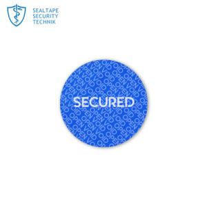 Het Etiket van de Sticker van de Verbinding van het Bewijs van de Stamper van de douane