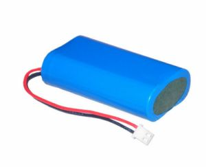 선풍기를 위한 7.4V 2000mAh 리튬 이온 18650 재충전 전지 팩