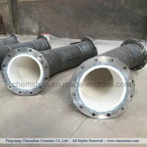 Alumina Ceramische Gevoerde Component voor De Buisleidingen van de Vliegas