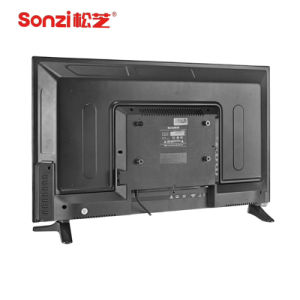 43 LED Inchi Smart TV avec le verre trempé de soutien ODM OEM