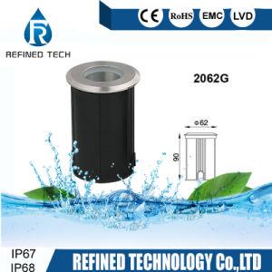 IP67/IP68 1W 3W Mini-LED Fußboden-Licht des Jobstepp-Licht-LED