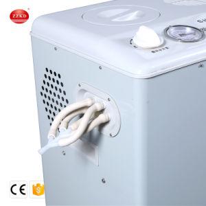 Pomp 10L/Min van het Laboratorium van de Vacuümpomp van Oilless van het Doorgevende Water van de Bescherming van de corrosie Draagbare Elektrische