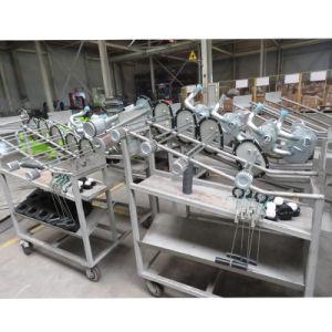 新型8トンの容器のディーゼルフォークリフト作業