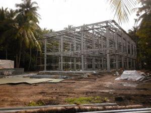 Paneles sándwich EPS prefabricados, Ingeniería de Edificación y bastidor de la estructura de acero