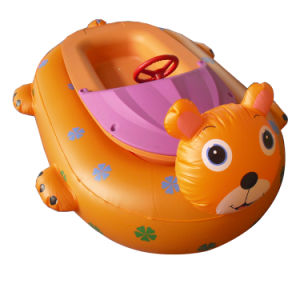 As crianças barco-Choques Animal inflável com Controlador Remoto