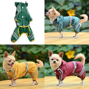 7216543fe0e6a9 Le Pet Produits Chien cool de l imperméable gentil animal de compagnie de  pluie Vêtements