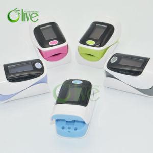 Afficheur OLED couleur oxymètre de pouls de doigt médical pour la maison