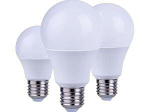 Lâmpada LED, LED de plástico misto de alumínio