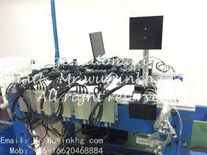 Impressora de jacto de tinta de impressão de loteria dos dados da variável número de série do código de barras, a máquina com alta velocidade Hewlett Packard solvente contínua do sistema de fornecimento de tinta