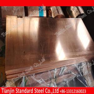 10mm C1100 C11000 Placa de cobre