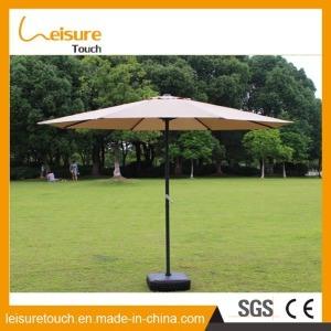 옥외 폴리에스테 양산 알루미늄 일요일 우산