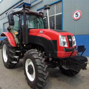 Big 85CV 4WD tractor agrícola com motor diesel de 4 Cilindros