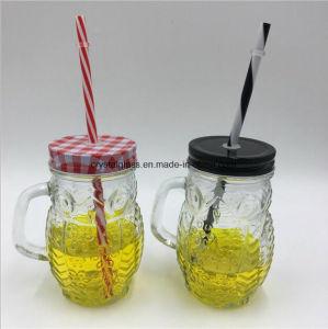 Personalizar el vidrio del molde Mason Jar de muestras gratis Controlador de forma bolas taza Mason