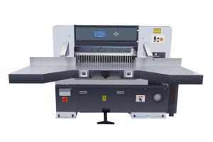 油圧二重ガイドの形の電気ギロチンのペーパーカッターの打抜き機(QZYX920D)