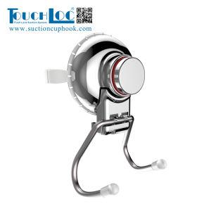 ガラス表面DgSf1002 Eのための浴室のステンレス鋼の吸引のカップ・フックのホールダーのホック
