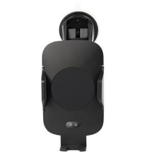2018 Ци Быстрая беспроводная автомобильное зарядное устройство с держателем для iPhone/Samsung